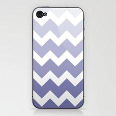 Chevron - Multi Blue iPhone & iPod Skin