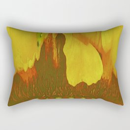 261 - Abstract inside flower design Rectangular Pillow