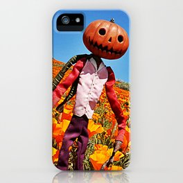 Jack Pumpkinhead iPhone Case
