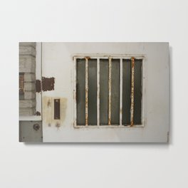 Welcome to Prison Metal Print