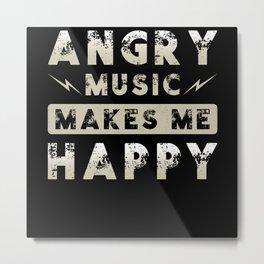 Metal Music Angry Music Metal Print