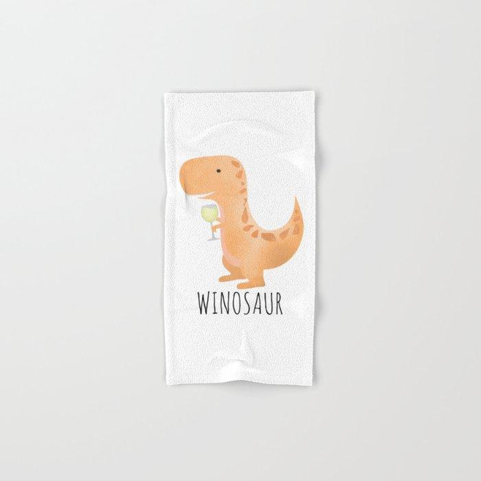 Winosaur | White Wine Hand & Bath Towel