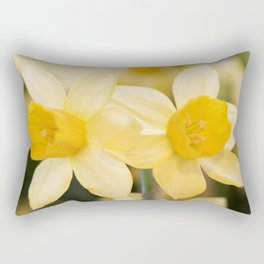 Tête-à-Tête Daffodil Rectangular Pillow