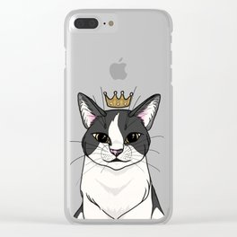 Queen Guinevere Clear iPhone Case