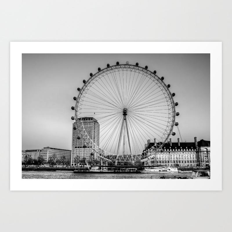 London eye london art print