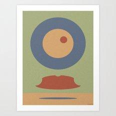 REMEMBER MOVEMBER Art Print