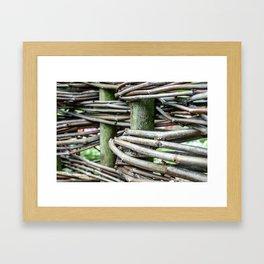 Natural Design Framed Art Print