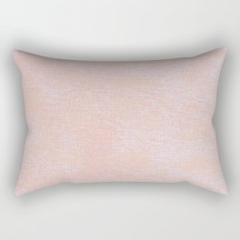 Pink and Orange  Rectangular Pillow