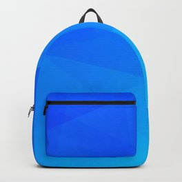 Ombre Blue Backpack