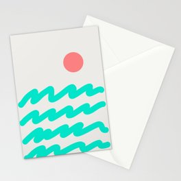 Abstract Landscape 08 Stationery Cards