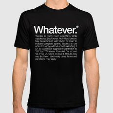 Whatever.* Applies to pretty much everything X-LARGE Mens Fitted Tee Black