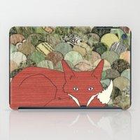mr fox iPad Cases featuring Mr. Fox by Elephant Trunk Studio