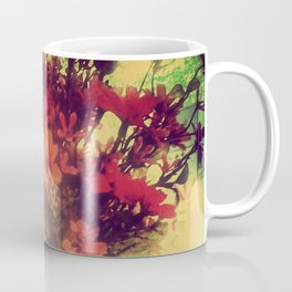 Vintage Flowers of August Coffee Mug