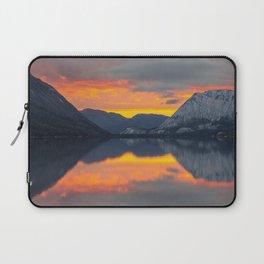 lake_sunset Laptop Sleeve