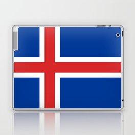 Flag of Iceland - High Quality Image Laptop & iPad Skin
