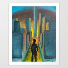 """The Diverge"" Art Print"