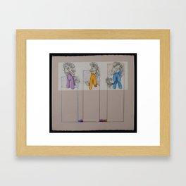 My Little Pony Skulls Framed Art Print