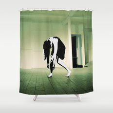 The Death Stare Shower Curtain