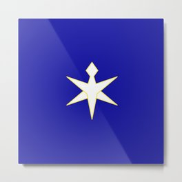 flag of Chiba prefecture Metal Print