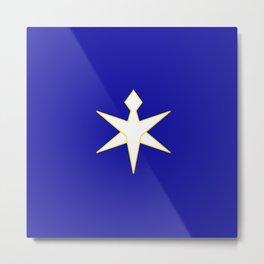 flag of Chiba prefecture Metal Print