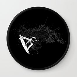 The Surfer Cosmic Wall Clock