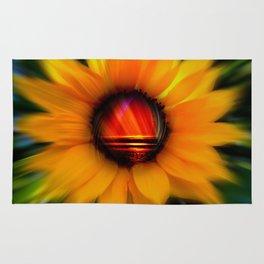 Sunflower -sunse Rug