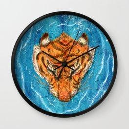 Tigress River Wall Clock
