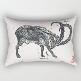 2015 Year of the Goat Rectangular Pillow