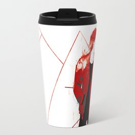 burning Kylo Travel Mug