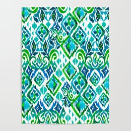 Seamless tribal pattern Poster
