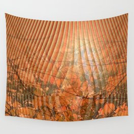 Shimmering Nature's Magic Wall Tapestry