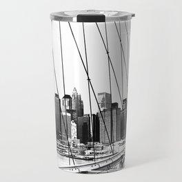 Manhattan NYC x Travel Mug