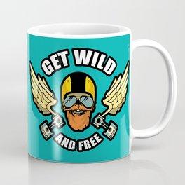 Get Wild And Free Coffee Mug