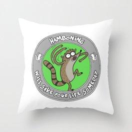 Hamboning Throw Pillow