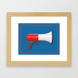 Chump Gun Framed Art Print