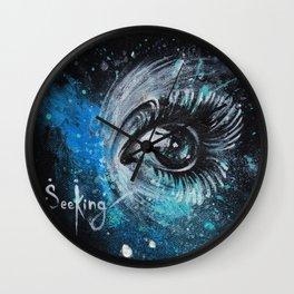 """SeeKing"" Wall Clock"