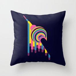 Lollipop Tower Throw Pillow