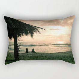 Windansea at Sunset Rectangular Pillow
