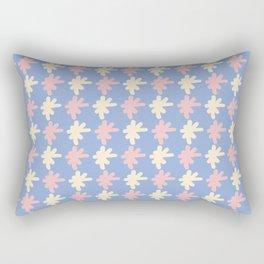 Lettering Asterisk Sign Pattern Rectangular Pillow