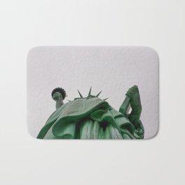 New York City: Statue of Liberty (Color) Bath Mat
