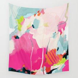 pink sky II Wall Tapestry