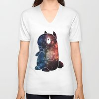 lsd V-neck T-shirts featuring LSD by theov6