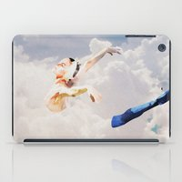ballerina iPad Cases featuring Ballerina  by Ed Pires