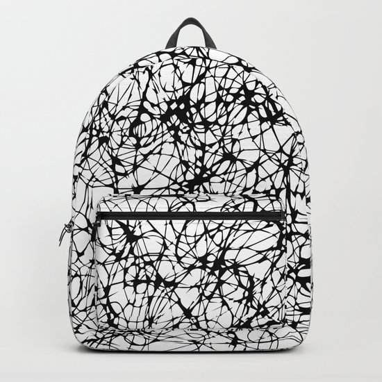 are you nervous? Backpack