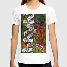 Signpost in the Fall T-shirt