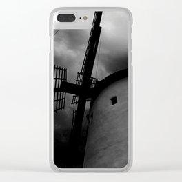 Terror windmill Clear iPhone Case