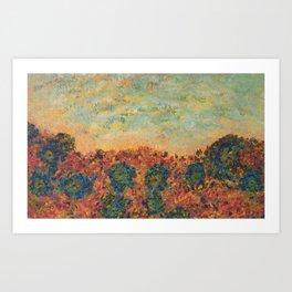 Flowers of Provence Art Print