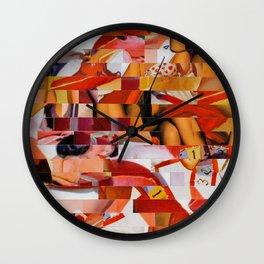 Spooning de Kooning (Provenance Series) Wall Clock