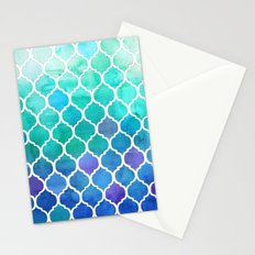 Emerald & Blue Marrakech Meander Stationery Cards