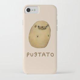 Pugtato iPhone Case